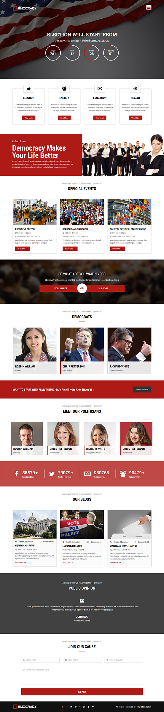 Template Industry Free Responsive Html5 Css3 Themes